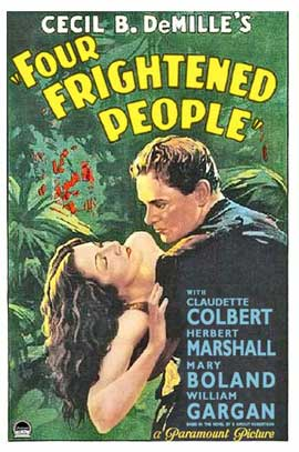 Four Frightened People - 11 x 17 Movie Poster - Style B