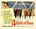 Four Girls in Town - 22 x 28 Movie Poster - Half Sheet Style A