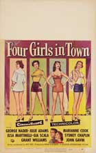 Four Girls in Town - 11 x 17 Movie Poster - Style A