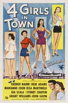 Four Girls in Town - 11 x 17 Movie Poster - Style B