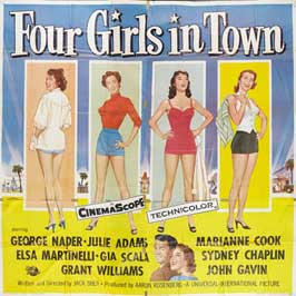 Four Girls in Town - 30 x 30 Movie Poster - Style A