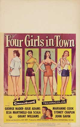 Four Girls in Town - 27 x 40 Movie Poster - Style A