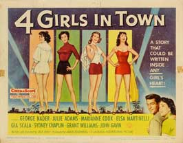 Four Girls in Town - 11 x 14 Movie Poster - Style A