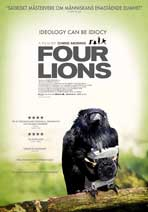 Four Lions - 43 x 62 Movie Poster - Swedish Style A