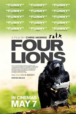 Four Lions - 11 x 17 Movie Poster - UK Style A