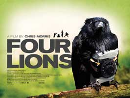 Four Lions - 30 x 40 Movie Poster UK - Style A