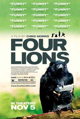 Four Lions - 11 x 17 Movie Poster - Style A