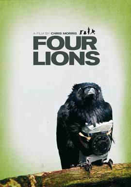 Four Lions - 11 x 17 Movie Poster - Style B