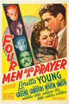 Four Men and a Prayer - 11 x 17 Movie Poster - Style B