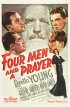 Four Men and a Prayer - 27 x 40 Movie Poster - Style C