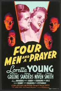 Four Men and a Prayer - 11 x 17 Movie Poster - Style A