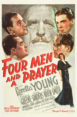 Four Men and a Prayer - 11 x 17 Movie Poster - Style C