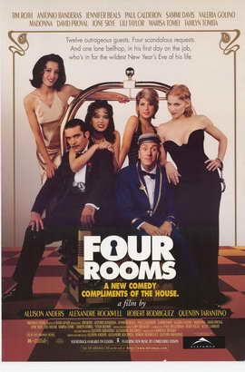 Four Rooms - 11 x 17 Movie Poster - Style A