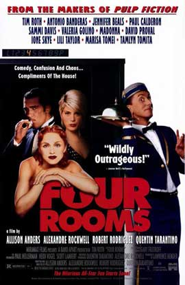 Four Rooms - 11 x 17 Movie Poster - Style C