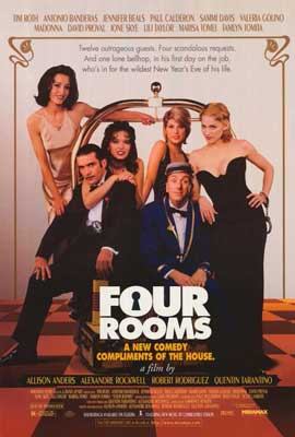 Four Rooms - 27 x 40 Movie Poster - Style A