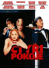 Four Rooms - 11 x 17 Movie Poster - Czchecoslovakian Style A