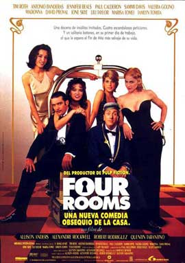 Four Rooms - 11 x 17 Movie Poster - Spanish Style A