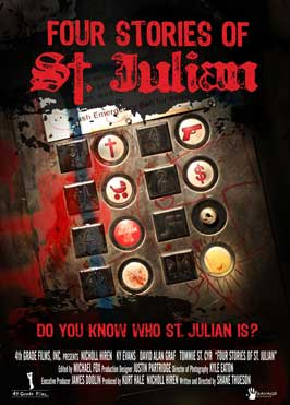 Four Stories of St. Julian - 11 x 17 Movie Poster - Style A