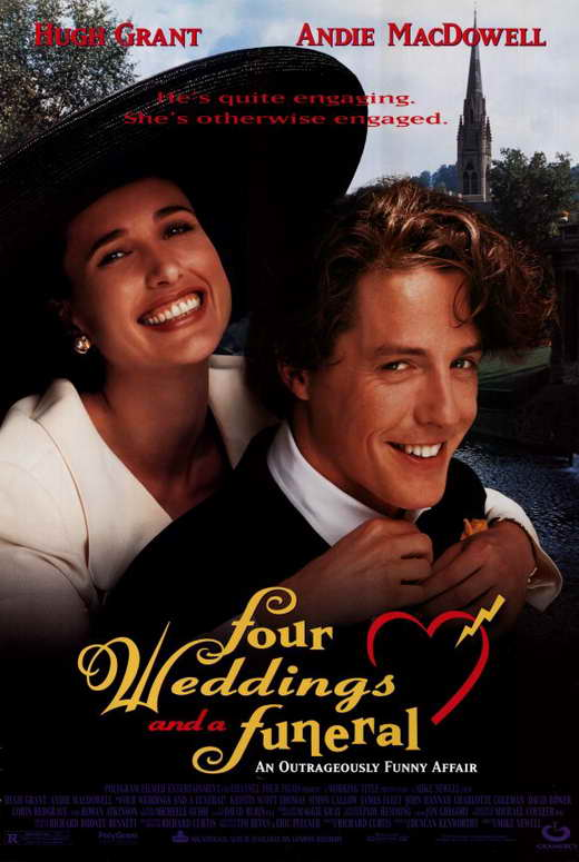 A wedding and a funeral movie