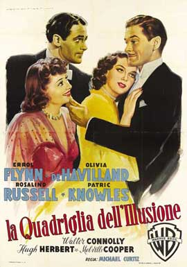 Four's a Crowd - 11 x 17 Movie Poster - Italian Style A