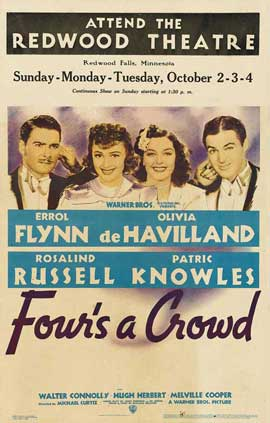 Four's a Crowd - 11 x 17 Movie Poster - Style A