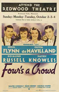Four's a Crowd - 27 x 40 Movie Poster - Style A
