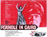 Foxhole in Cairo - 11 x 14 Movie Poster - Style A