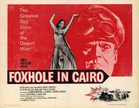 Foxhole in Cairo - 22 x 28 Movie Poster - Half Sheet Style A