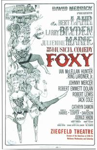 Foxy (Broadway) - 11 x 17 Poster - Style A