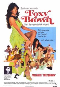 Foxy Brown - 43 x 62 Movie Poster - Bus Shelter Style A