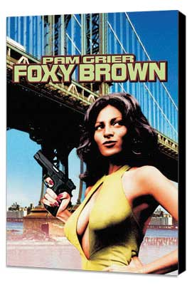 Foxy Brown - 27 x 40 Movie Poster - Style B - Museum Wrapped Canvas