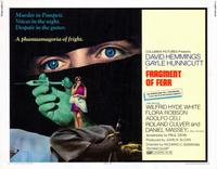 Fragment of Fear - 11 x 14 Movie Poster - Style A