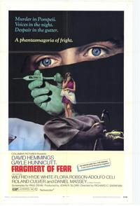Fragment of Fear - 11 x 17 Movie Poster - Style B