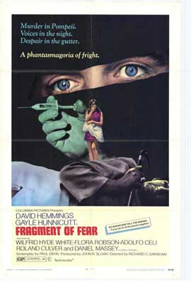 Fragment of Fear - 27 x 40 Movie Poster - Style B