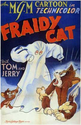 Fraidy Cat - 11 x 17 Movie Poster - Style A