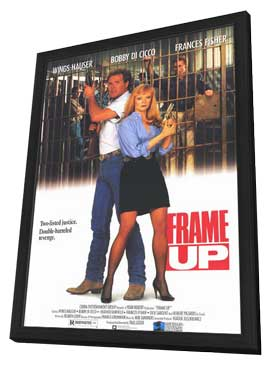 Frame Up - 27 x 40 Movie Poster - Style A - in Deluxe Wood Frame