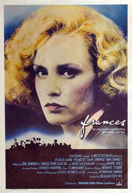 Frances - 27 x 40 Movie Poster - UK Style A