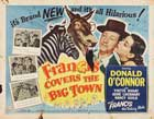 Francis Covers the Big Town - 22 x 28 Movie Poster - Half Sheet Style A