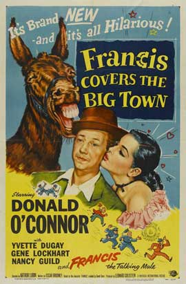 Francis Covers the Big Town - 27 x 40 Movie Poster - Style A