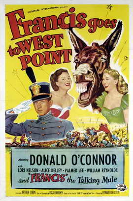 Francis Goes to West Point - 11 x 17 Movie Poster - Style A