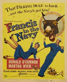Francis Goes to West Point - 11 x 17 Movie Poster - Style B
