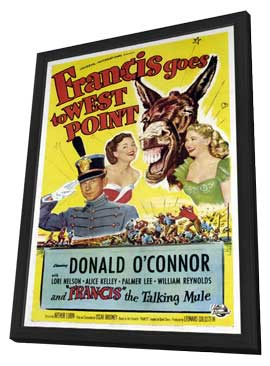 Francis Goes to West Point - 11 x 17 Movie Poster - Style A - in Deluxe Wood Frame