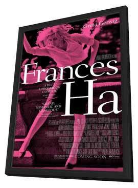 Francis Ha - 11 x 17 Movie Poster - Style A - in Deluxe Wood Frame