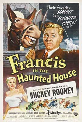 Francis in the Haunted House - 27 x 40 Movie Poster - Style A