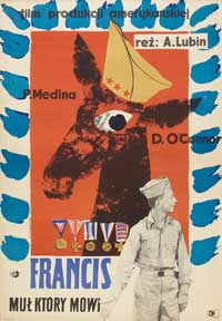 Francis - 11 x 17 Movie Poster - Polish Style A