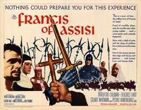 Francis of Assisi - 22 x 28 Movie Poster - Half Sheet Style A