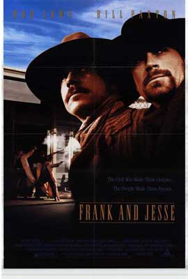 Frank and Jesse - 27 x 40 Movie Poster - Style A