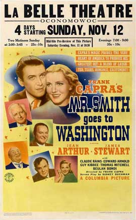 Frank Capra's Mr. Smith Goes to Washington - 11 x 17 Movie Poster - Style B
