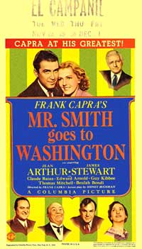 Frank Capra's Mr. Smith Goes to Washington - 27 x 40 Movie Poster - Style B