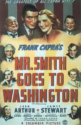 Frank Capra's Mr. Smith Goes to Washington - 11 x 17 Movie Poster - Style D